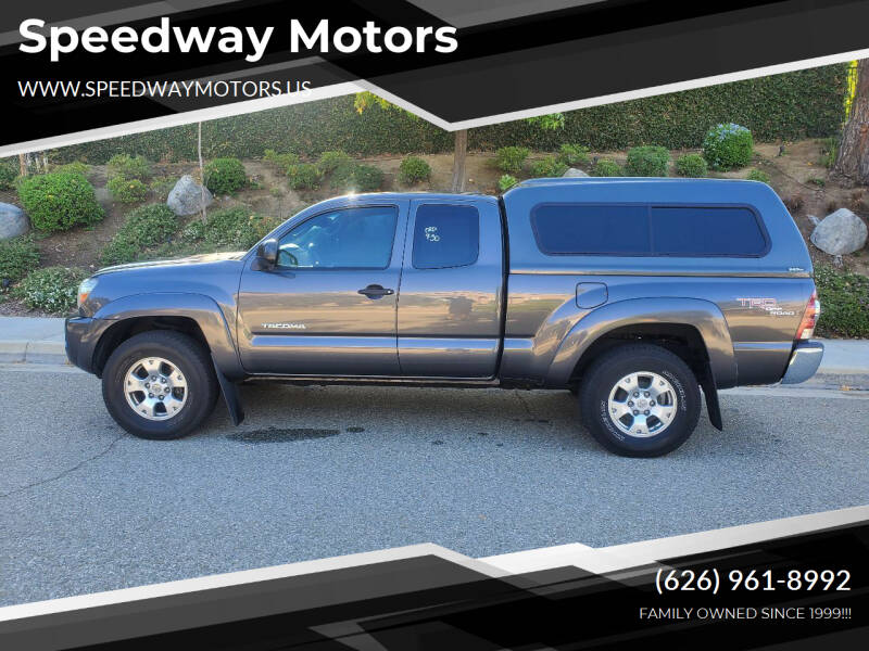 2010 Toyota Tacoma for sale at Speedway Motors in Glendora CA