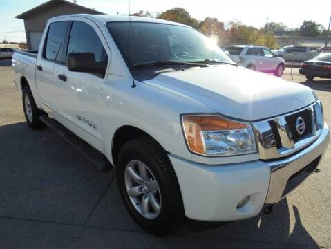 2013 Nissan Titan for sale at PIONEER AUTO SALES LLC in Cleveland TN