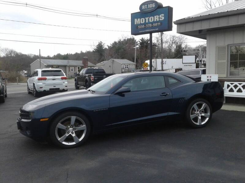 2010 Chevrolet Camaro for sale at Route 106 Motors in East Bridgewater MA