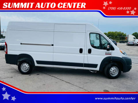 2017 RAM ProMaster Cargo for sale at SUMMIT AUTO CENTER in Summit IL