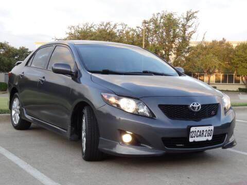2010 Toyota Corolla for sale at 123 Car 2 Go LLC in Dallas TX