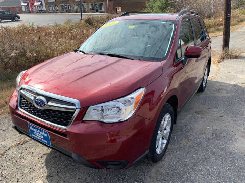 2016 Subaru Forester for sale at Ripley & Fletcher Pre-Owned Sales & Service in Farmington ME