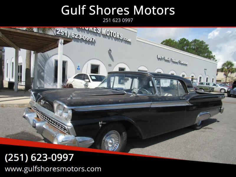 1959 Ford Fairlane 500 for sale at Gulf Shores Motors in Gulf Shores AL
