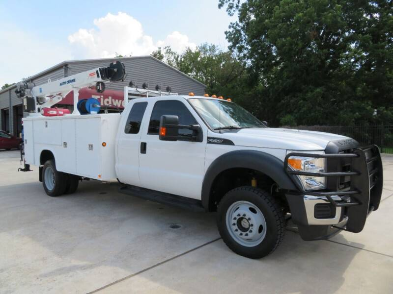 2013 Ford F-550 Super Duty for sale at TIDWELL MOTOR in Houston TX