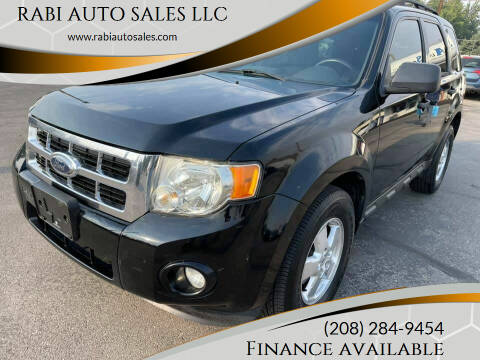 2009 Ford Escape for sale at RABI AUTO SALES LLC in Garden City ID