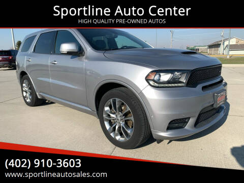 2020 Dodge Durango for sale at Sportline Auto Center in Columbus NE
