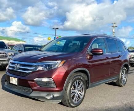 2017 Honda Pilot for sale at PONO'S USED CARS in Hilo HI