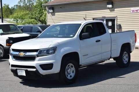 2015 Chevrolet Colorado for sale at MANASSAS AUTO TRUCK in Manassas VA