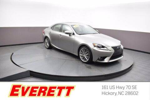 2016 Lexus IS 200t for sale at Everett Chevrolet Buick GMC in Hickory NC