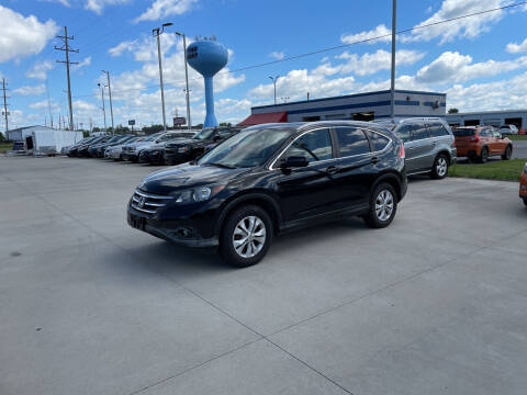 2013 Honda CR-V for sale at EUROPEAN AUTOHAUS in Holland MI