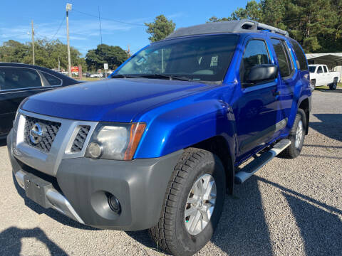 2015 Nissan Xterra for sale at Baileys Truck and Auto Sales in Florence SC