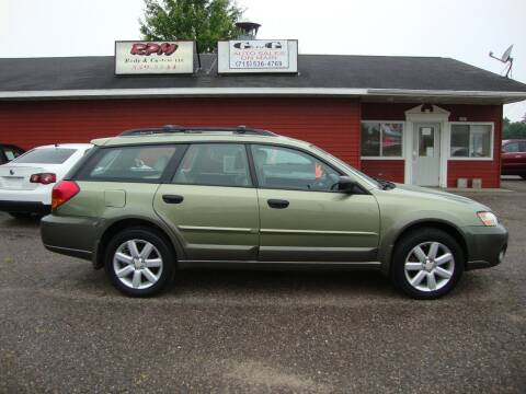 2007 Subaru Outback for sale at G and G AUTO SALES in Merrill WI