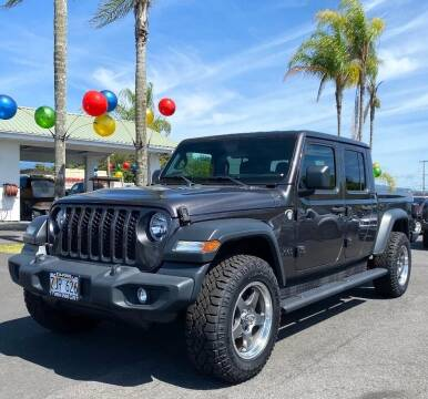 2020 Jeep Gladiator for sale at PONO'S USED CARS in Hilo HI