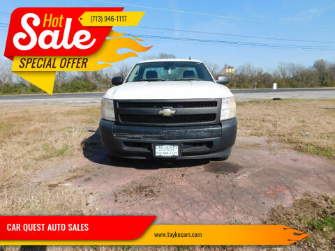 2007 Chevrolet Silverado 1500 for sale at CAR QUEST AUTO SALES in Houston TX