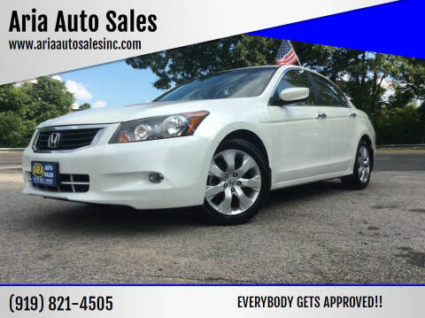 2010 Honda Accord for sale at ARIA  AUTO  SALES in Raleigh NC