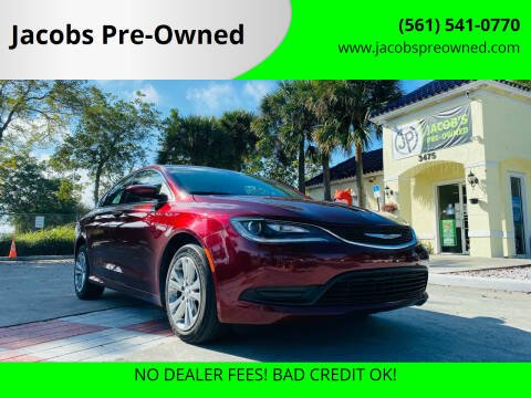 2016 Chrysler 200 for sale at Jacobs Pre-Owned in Lake Worth FL