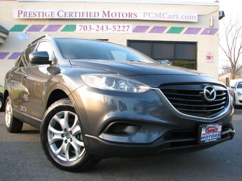 2014 Mazda CX-9 for sale at Prestige Certified Motors in Falls Church VA
