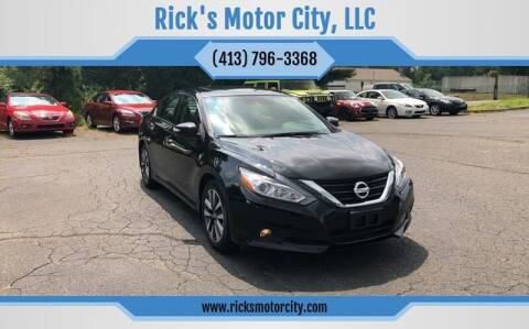 2017 Nissan Altima for sale at Rick's Motor City, LLC in Springfield MA