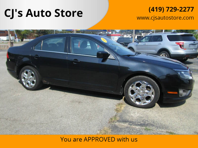 2010 Ford Fusion for sale at CJ's Auto Store in Toledo OH