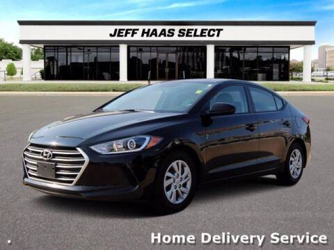 2017 Hyundai Elantra for sale at JEFF HAAS MAZDA in Houston TX