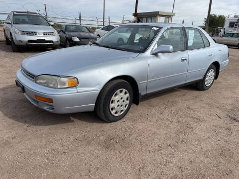 1996 Toyota Camry for sale at PYRAMID MOTORS - Fountain Lot in Fountain CO