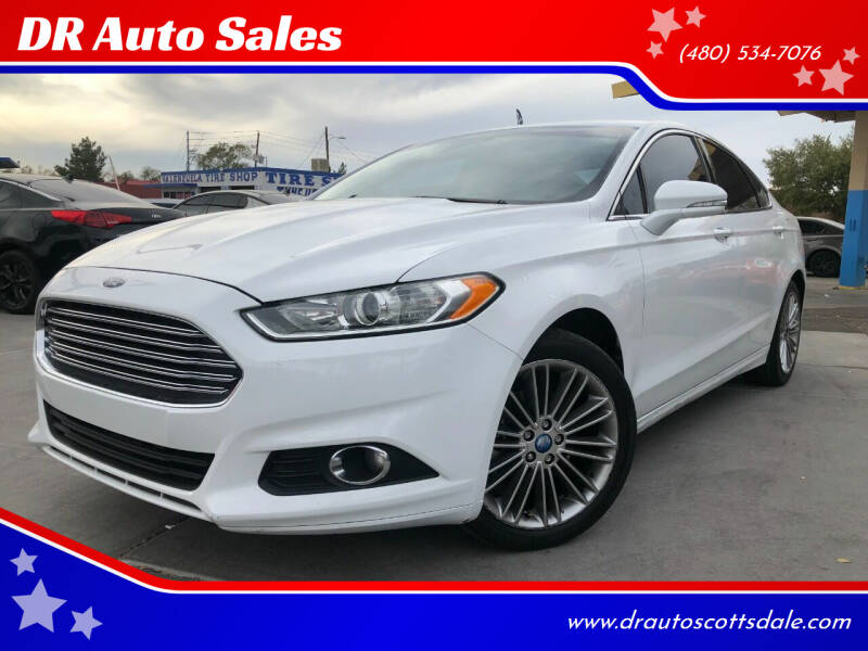 2013 Ford Fusion for sale at DR Auto Sales in Scottsdale AZ