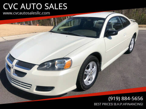 2003 Dodge Stratus for sale at CVC AUTO SALES in Durham NC