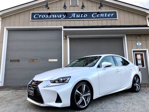 2017 Lexus IS 300 for sale at CROSSWAY AUTO CENTER in East Barre VT
