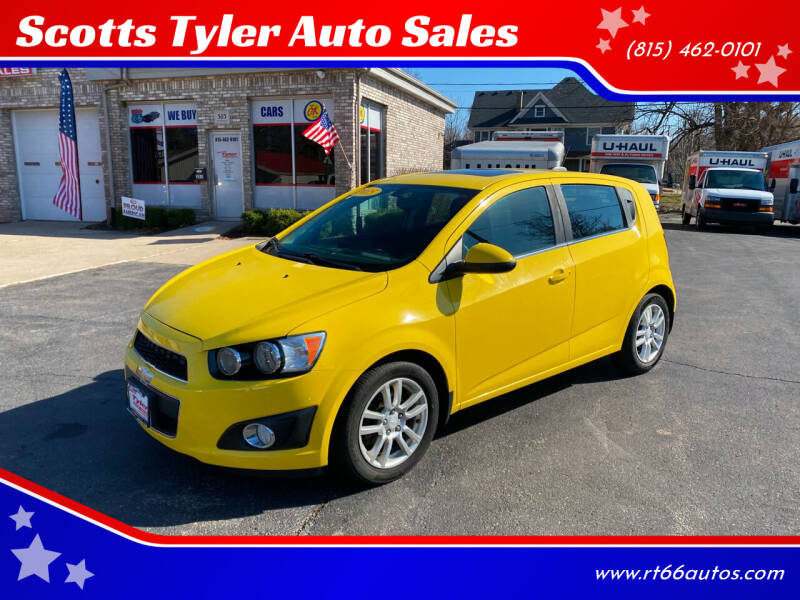 2015 Chevrolet Sonic for sale at Scotts Tyler Auto Sales in Wilmington IL
