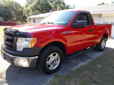 2013 Ford F-150 for sale at LANCASTER'S AUTO SALES INC in Fruitland Park FL