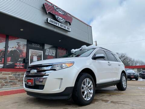 2011 Ford Edge for sale at Chema's Autos & Tires in Tyler TX