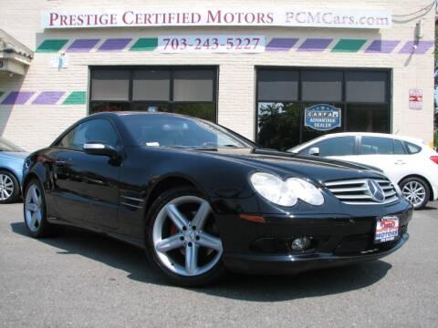 2004 Mercedes-Benz SL-Class for sale at Prestige Certified Motors in Falls Church VA