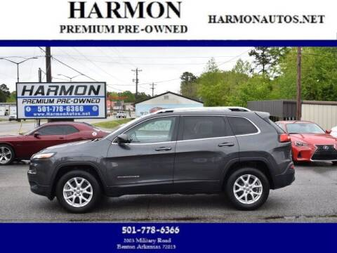 2016 Jeep Cherokee for sale at Harmon Premium Pre-Owned in Benton AR