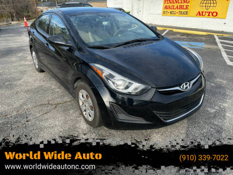 2016 Hyundai Elantra for sale at World Wide Auto in Fayetteville NC