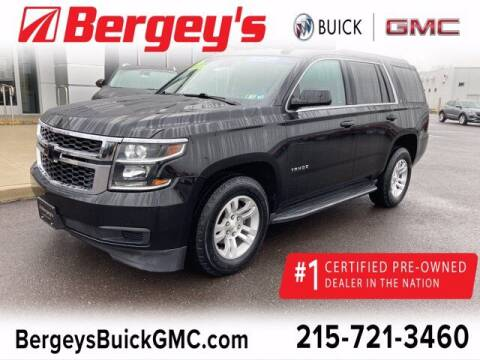 2016 Chevrolet Tahoe for sale at Bergey's Buick GMC in Souderton PA