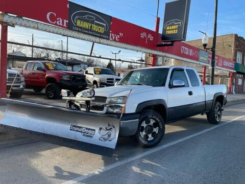 2003 Chevrolet Silverado 1500 for sale at Manny Trucks in Chicago IL