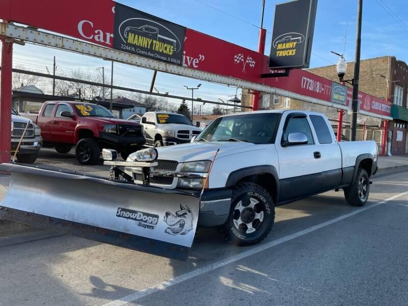 2003 Chevrolet Silverado 1500 for sale at Manny Trucks in Chicago IL