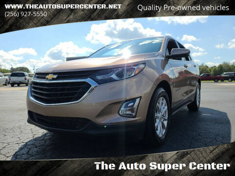 2018 Chevrolet Equinox for sale at The Auto Super Center in Centre AL