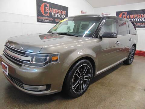 2014 Ford Flex for sale at Champion Motors in Amherst NH