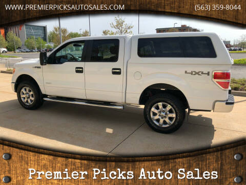 2013 Ford F-150 for sale at Premier Picks Auto Sales in Bettendorf IA