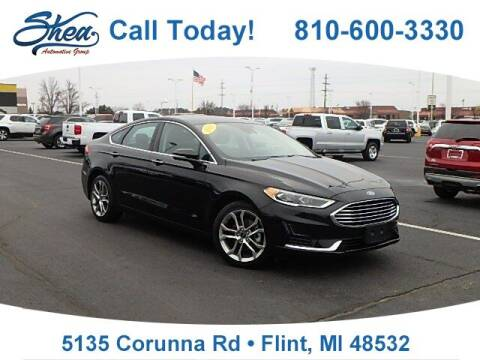 2019 Ford Fusion for sale at Jamie Sells Cars 810 - Linden Location in Flint MI