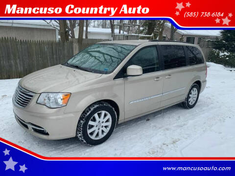 2014 Chrysler Town and Country for sale at Mancuso Country Auto in Batavia NY