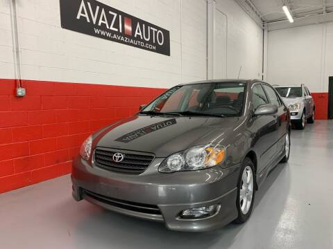 2005 Toyota Corolla for sale at AVAZI AUTO GROUP LLC in Gaithersburg MD