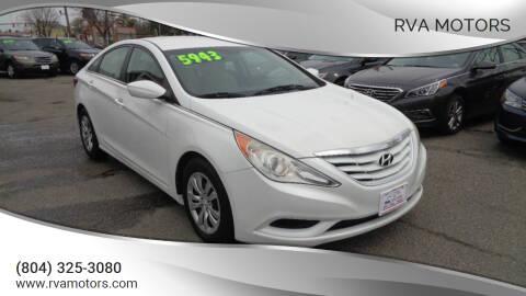 2011 Hyundai Sonata for sale at RVA MOTORS in Richmond VA