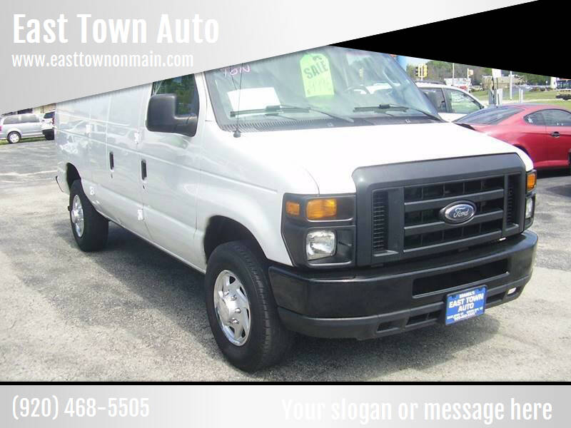 2012 Ford E-Series Cargo for sale at East Town Auto in Green Bay WI