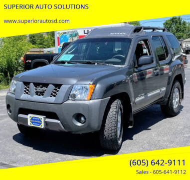 2006 Nissan Xterra for sale at SUPERIOR AUTO SOLUTIONS in Spearfish SD