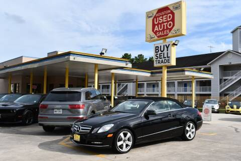 2013 Mercedes-Benz E-Class for sale at Houston Used Auto Sales in Houston TX