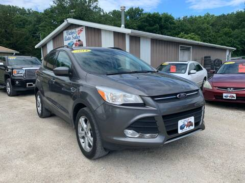 2014 Ford Escape for sale at Victor's Auto Sales Inc. in Indianola IA