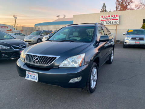 2008 Lexus RX 350 for sale at Adams Auto Sales in Sacramento CA