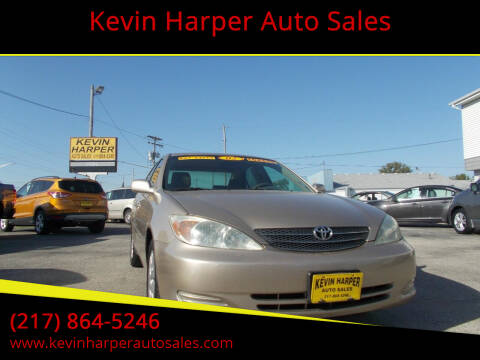 2002 Toyota Camry for sale at Kevin Harper Auto Sales in Mount Zion IL